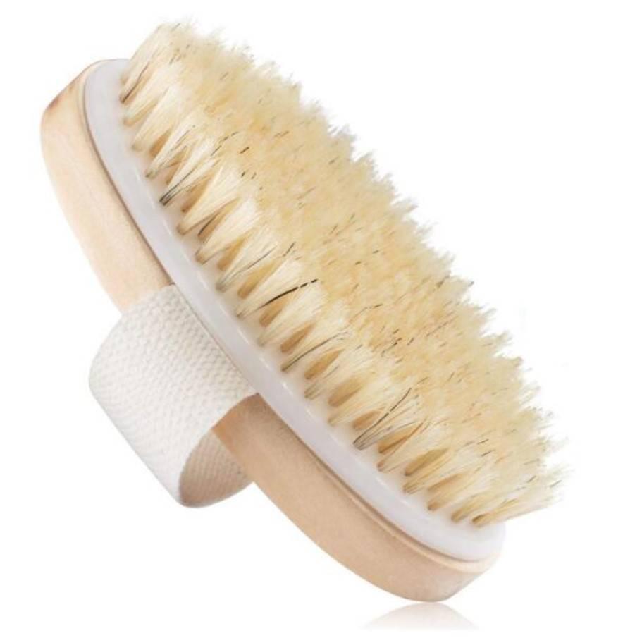 Wooden Massage Shower Brush