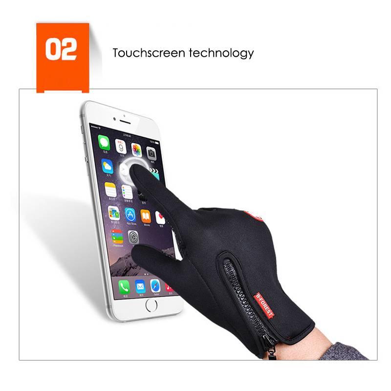 Anti-Slip Warm Touchscreen Cycling Gloves