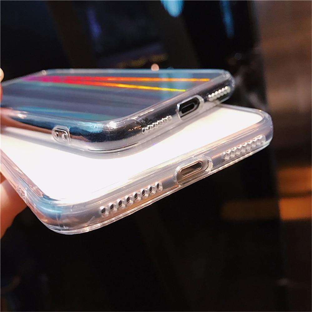 Rainbow Hard Phone Case for iPhone