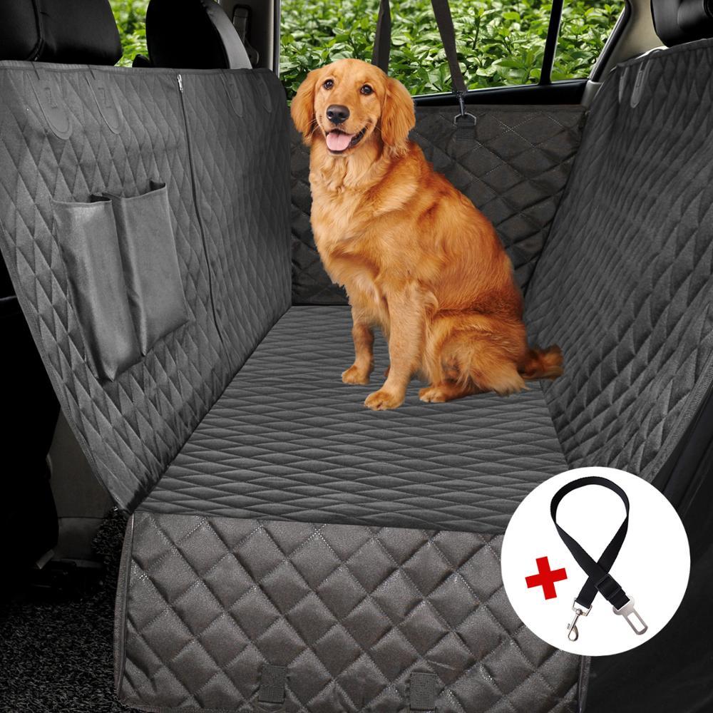 Dog Car Seat Cover Waterproof Dog Car Hammock Pet Dog Carrier Car Back Seat Mat Cushion